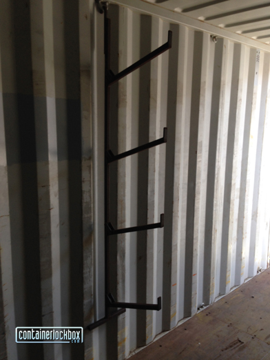 Pipe Racks 2x Shipping Container Lock Box